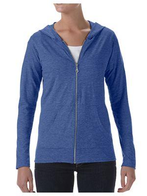 Women´s Tri-Blend Full-Zip Hooded Jacket