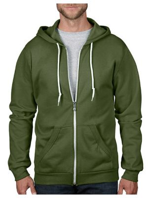 Full Zip Hooded Sweatjacket