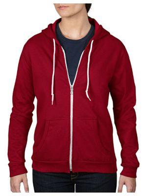 Women´s Full Zip Hooded Sweatjacket