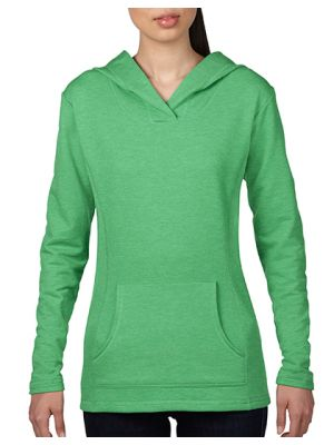Women´s Crossneck Hooded Sweatshirt