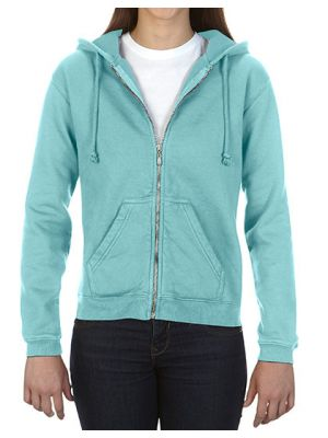 Ladies´ Full Zip Hooded Sweatshirt