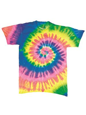 Multi-Color Spirals T-Shirt
