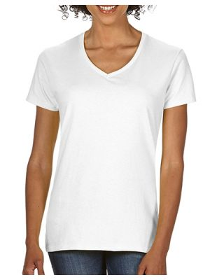 Premium Cotton® Ladies´ V-Neck T-Shirt