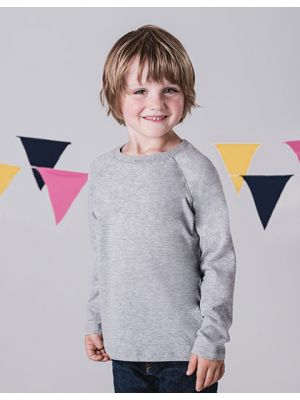 Kids Long Sleeve Raglan T