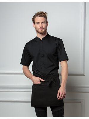 Men´s Bar Shirt Mandarin-Collar Shortsleeve