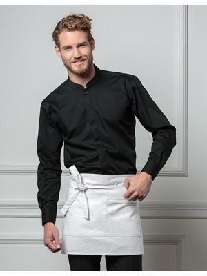 Men´s Bar Shirt Mandarin-Collar Longsleeve