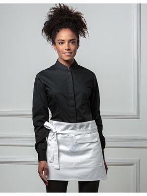 Women´s Bar Shirt Mandarin Collar Longsleeve