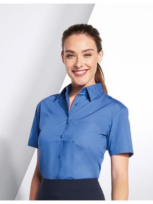 Ladies Poplin Shirt Energy