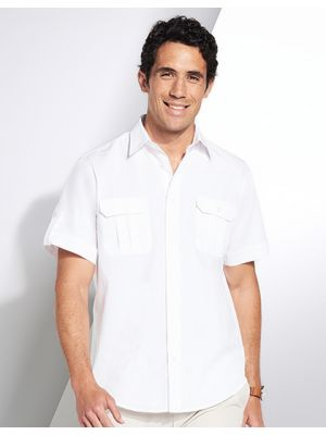 Mens Short Sleeve Shirt Botswana