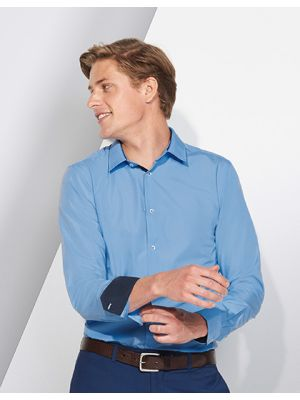 Long Sleeves Fitted Shirt Broker Men