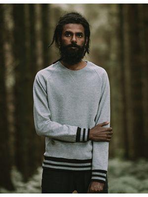 Men´s Striped Superstar Sweatshirt