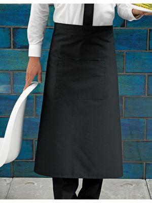 Barschürze lang mit Tasche