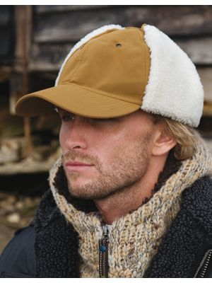 Faux Sheepskin Hat