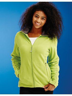 Womens Adamsville Full Zip Fleece Jacket