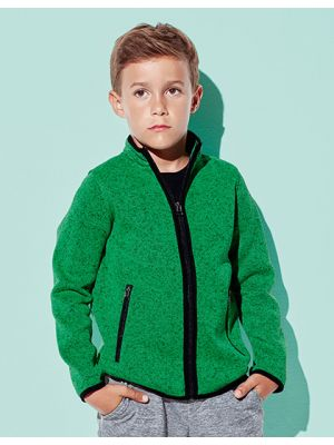 Active Knit Fleece Jacket for children