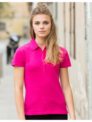Ladies Short Sleeved Stretch Polo