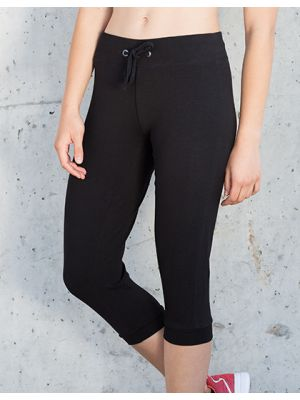 Ladies 3/4 Length Work Out Pant