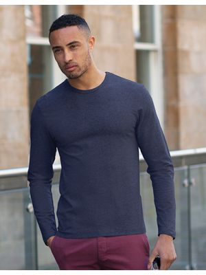 Mens Long Sleeved Stretch T