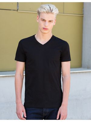 Mens Feel Good Stretch V-Neck T