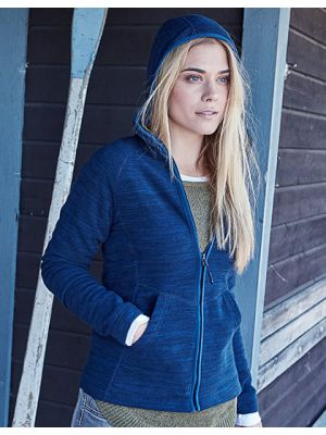 Ladies Urban Hooded Fleece Jacket