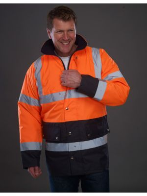 High Visibility Two-Tone Motorway Jacket